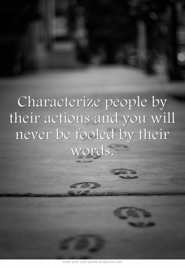 How to characterize people