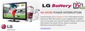 LG Battery TV