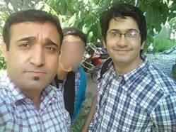 With the KAMAL Kamal, and a dear friend